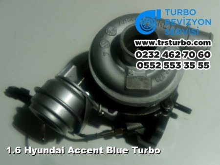 1.6 Hyundai Accent Blue Turbo