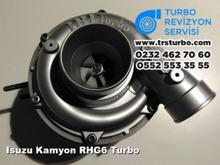 Isuzu Kamyon RHG6 Turbo