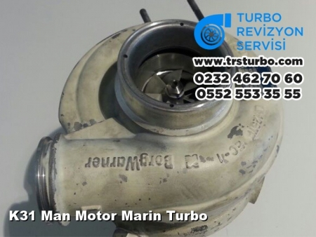 K31 Man Motor Marin Turbo