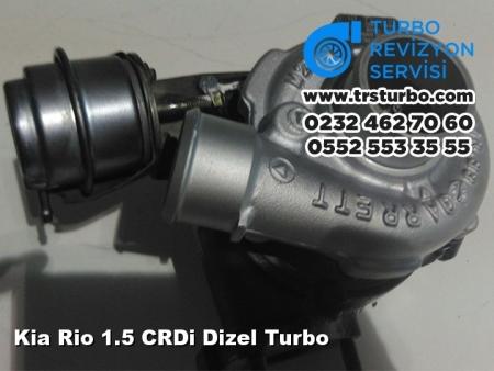 Kia Rio 1.5 CRDi Dizel Turbo