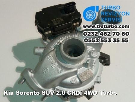 Kia Sorento SUV 2.0 CRDi 4WD Turbo