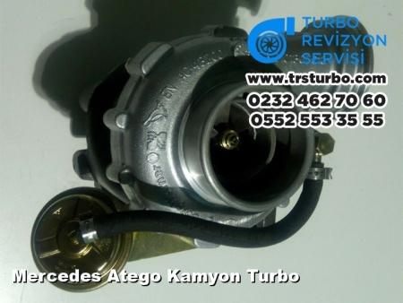 Mercedes Atego Kamyon Turbo
