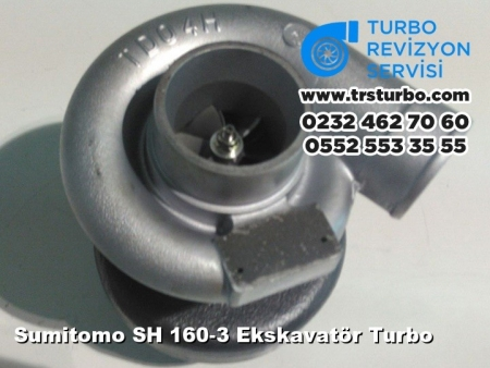 Sumitomo SH 160-3 Ekskavatör Turbo