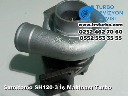 Sumitomo SH120-3 İş Makinası Turbo