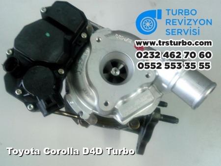 Toyota Corolla D4D Turbo
